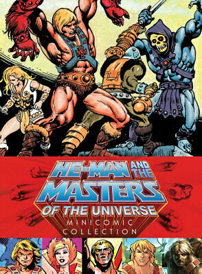 2227160 791970 Libri He-Man And The Masters Of The Universe Minicomic Collection