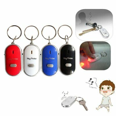 Whistle Lost Key Finder Flashing Beeping Locator Remote chain LED Sonic torch.