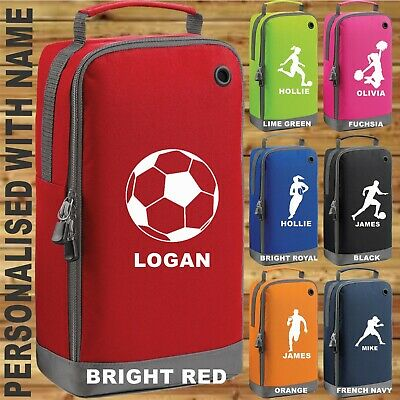 PERSONALISED ACCESSORY BAG ADD NAME SPORTS LOVERS GIFT UNISEX GOODS BOOT BAG
