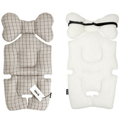 [to:tots] Stroller Pram Seat Liner Pad for Baby to Sit Comfortably Chic Check G