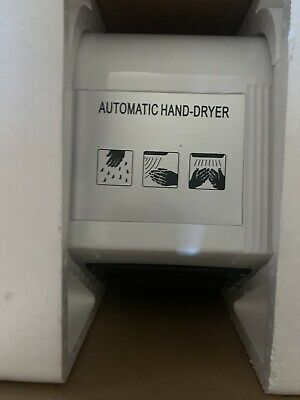 Kenley Automatic Hand Dryer With Abs Covering Rrp £80