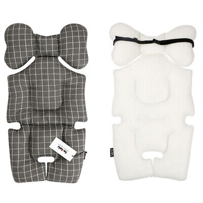 [to:tots] Stroller Pram Seat Liner Pad for Baby to Sit Comfortably Chic Check C