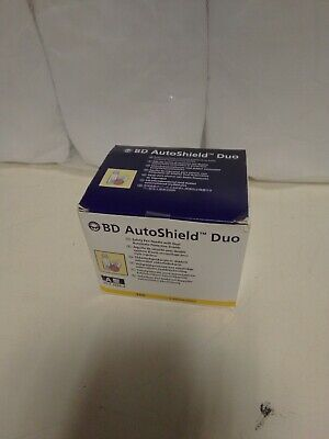 BD Autoshield Duo 0.30mm (30G) x 5mm Pack of 100- Brand New .