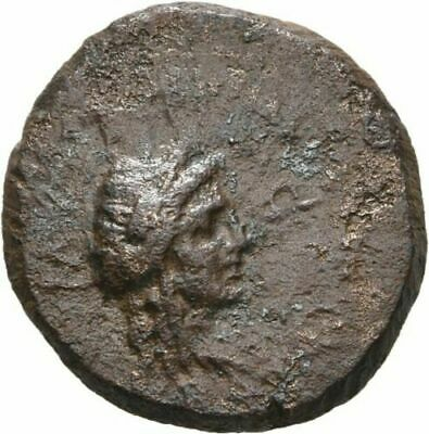 Ancient Greece 2-1 Cent BC AEOLIS ELAIA Demeter Torch