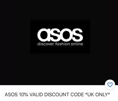 Asos 10% Valid Discount Code *Uk Only*