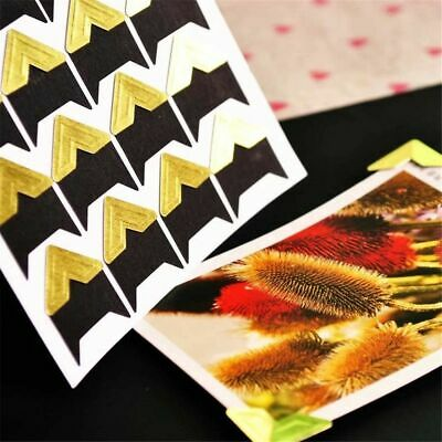 Card DIY Album Photo Corner Protectors Scrapbooking Picture Frame Stickers