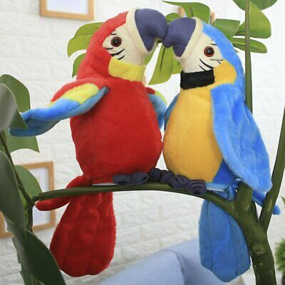 Xams Hamster Parrot Repeats What You Say Electronic Pet Talking Plush Toy gift #