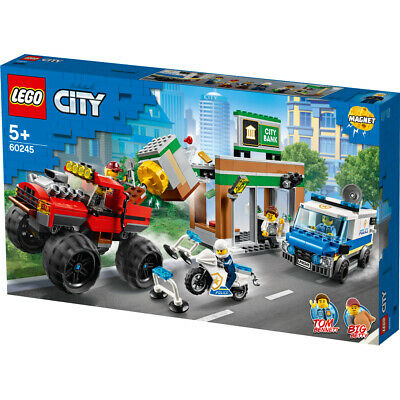 Lego City Police Monster Truck Heist Building Set - 60245