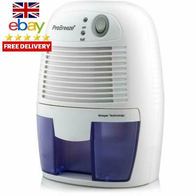 Pro Breeze 500Ml Compact And Portable Mini Air Dehumidifier For Damp, Mould, Moi