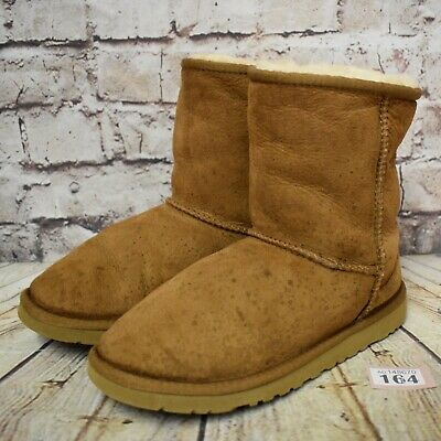Junior UGG Australia Classic Short Pull On Ankle Winter Boots UK 5 EUR 36 US 6