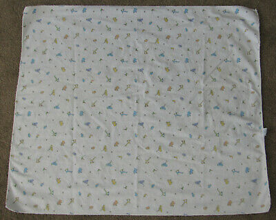 Carters John Lennon Baby Blanket Real Love Imagine Animals Flannel Receiving
