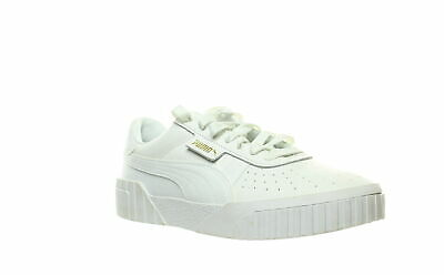 PUMA WOMENS WHITE Off White SHINY SPARKLY Shoes Sneakers Sz