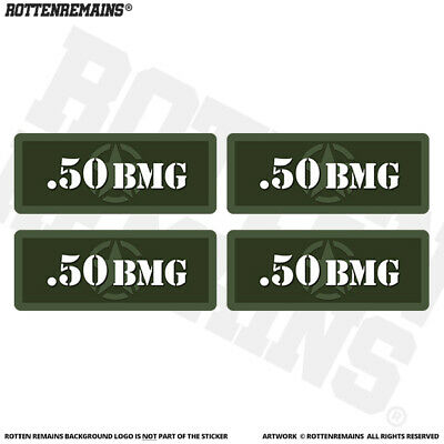 50 BEO Ammo Can Labels MINI Ammunition Case Beowulf decals 4 pack YW MINI 1.5in