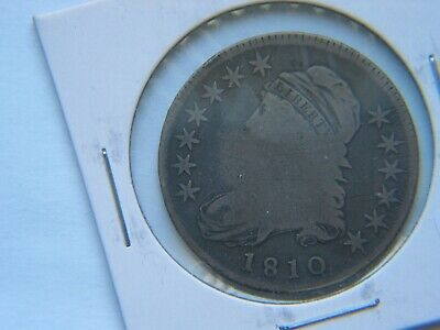 1810 Capped Bust Silver Half Dollar