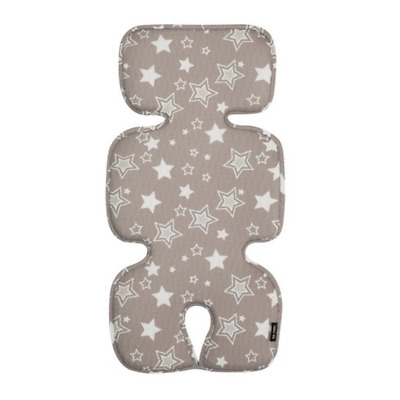 [to:tots] Baby Pram Cool Mat Seat Liner Stroller Pad Cushion, Double Star Gray