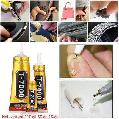 T7000 Contact Adhesive Glue Craft Mobile Phone Tablet Laptop Black 15/50/110 ML