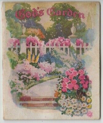 God'sgarden booklet was in 1934 Cora Lyn South Australia flood from AA
