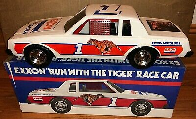 "Exxon Run with the Tiger 16"" Race Car-1990s-Made in USA-MIB"