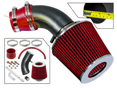 K/&N+RED NEW AIR INTAKE KIT FOR 01 02 03 04 05//2001-2005 HYUNDAI ACCENT WITH 1.6L