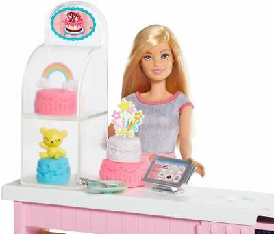 Barbie Cake Decorating Playset and Baker Doll FHP72 FHP71 FHP70