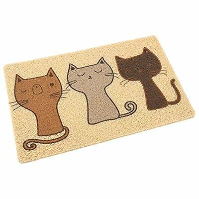 Cat Litter Trapping Mat Durable Non Toxic Soft & Easy Clean Scratcher Cat