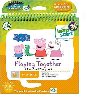 Leapfrog Leapstart Nursery Featuring  Peppa Pig Story Book 3D Enhanced