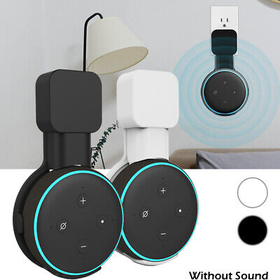 Outlet Wall Mount Hanger Holder Stand Bracket for Amazon Alexa Echo Dot 3rd Gen