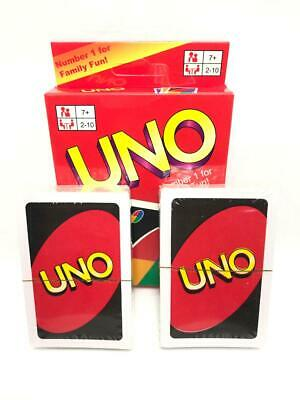 Family Entertain UNO Playing Cards Games 2 To 10 Players Number 1 For Family Fun