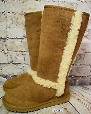 Junior UGG Australia Sunsparkle Sheepskin Snow Boots UK 3 EUR 34 - Model 5274