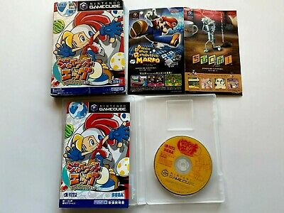 Nintendo GameCube Giant Egg Japan Billy Hatcher and the Giant Egg GC Game cube