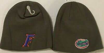 University Of Florida Gators Grey Winter Beanie Hat/Cap By Top Of The World