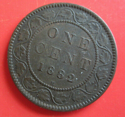 1882-H Canadian Large Cent  (#2 Box #28)