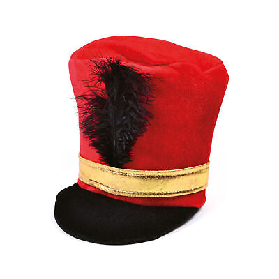 MILITARY SOLDIER ROYAL GUARD BEARSKIN HAT Mens Fancy Dress Costume Accessory