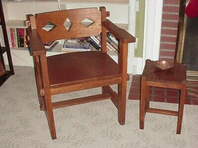 Antique Mission Style Oak Furniture 7 pcs. Arts & Crafts    *OHIO pick up only*
