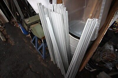 205 FEET of 8020 Inc 15 Series Smooth Aluminum Extrusion T slot 1515 1.5 square