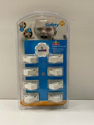 Safety 1st 9 Piece Magnetic Tot Loc Set Cabinet Locks Baby Proofing - Sealed