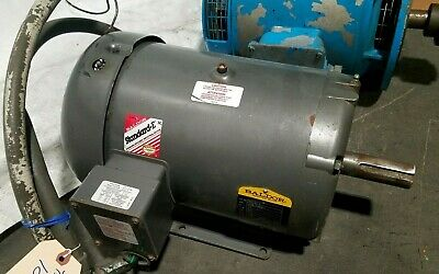 Baldor 10 Hp Electric Motor 575 Volts 3 Phase 215T Frame 1760 RPM