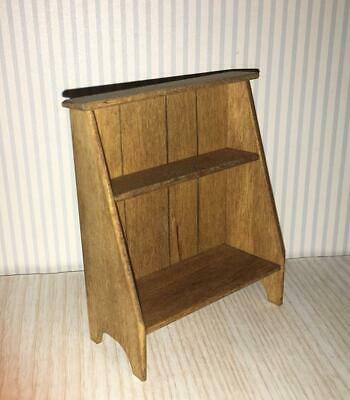 Miniature Dollhouse 1:12 Scale Pine Bucket Bench-Sir Thomas Thumb-912.1