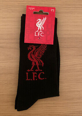 LIVERPOOL FC WINTER THERMAL INSULATED SOCKS BLACK COLOUR LFC NEW GIFT XMAS