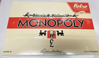 Monopoly Retro Series 1935 edition hasbro gaming 3 to 6 players ages 8+.new