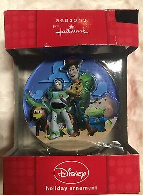 Toy Story Hallmark Ornament Disney Pixar Buzz LightYear Woody Rex Hamm Slinky 3D