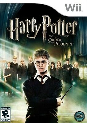 Harry Potter and the Order of the Phoenix - Nintendo  Wii Game