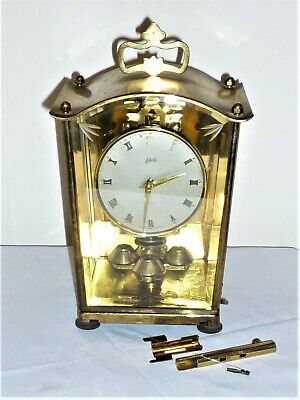 Antique C1940  Aug Schatz & Sohne German Mantel Clock 400 For Spares And Repairs