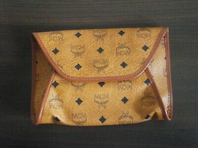 ORIGINAL MCM POCHETTE CLUTCH KOSMETIKTASCHE LIMIT EDITION BY