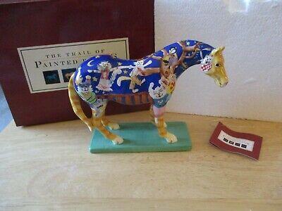 Retired! Trail of Painted Ponies KITTY CAT/'S BALL FIGURINE #1585 1st Edition