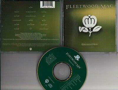FLEETWOOD MAC Greatest Hits 1988 CD USA PRESSING