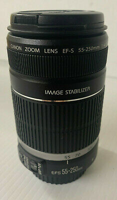 Canon EF-S 55-250mm F/4-5.6 Image Stabilization IS Zoom Lens Macro 1.1m/3.6ft