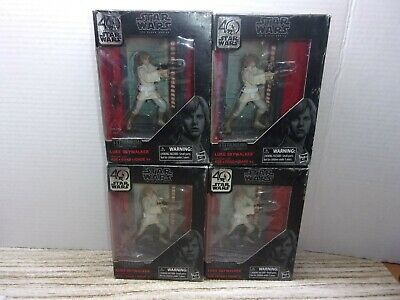 Star Wars The Black Series Titanium Series Luke Skywalker, 3.75-inch (LOT OF 4)