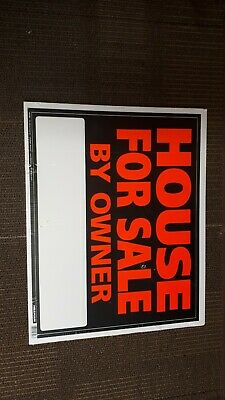 """House For Sale By Owner Sign 24""""×20"""
