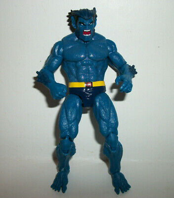 "Marvel Universe Super Hero Figure Legends 3.75"" 3-4"" X-Men Beast Blue 3.75"" #5a"